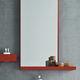 espejo para baño de pared / moderno / rectangular