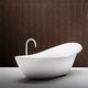 bañera independiente / ovalada / de Cristalplant®