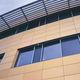 revestimiento de fachada para fachada ventilada / de terracota / ranurado / liso