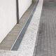 canal de drenaje de acero / con rejillas / de fachada