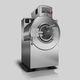 lavadora-centrifugadora de carga frontal / para suelo / de ahorro energético / profesional