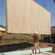 panel sándwich aislante para techado / para pavimento / para tabique / 2 caras de madera contrachapada