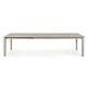 mesa contemporánea / de aluminio / con base de aluminio / rectangular