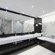 módulo prefabricado para cuarto de baño / para habitación de hotel