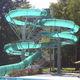 tobogán giratorio / para parque acuático / tubular