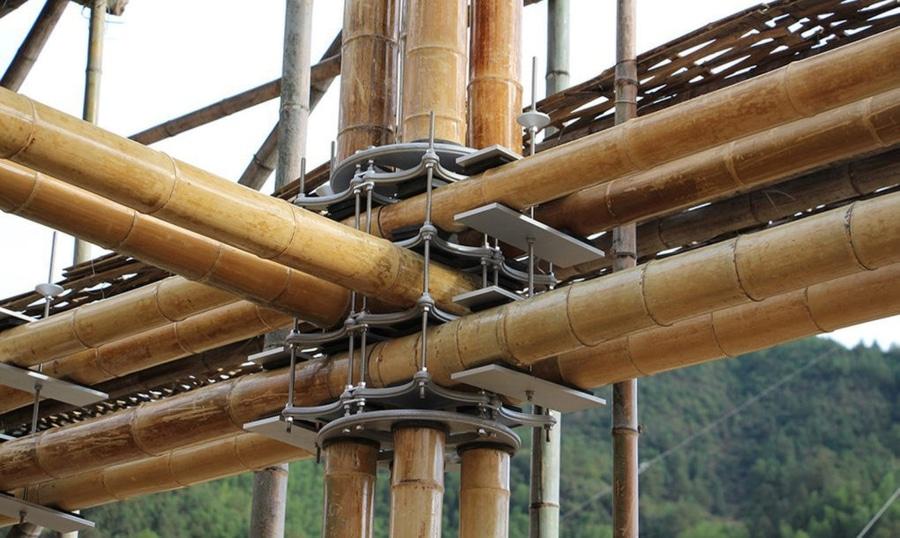 Resultado de imagen de casa bambu