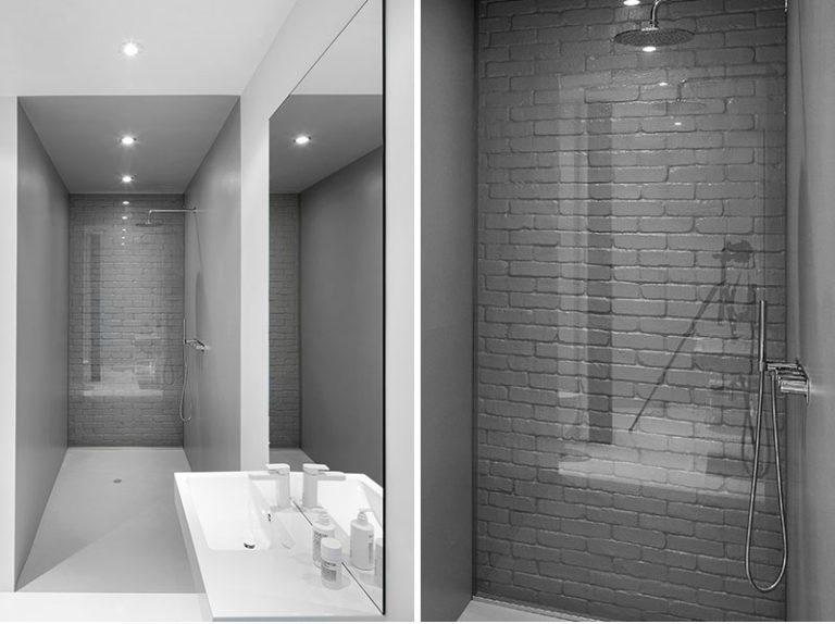 Idea del diseño del cuarto de baño – utilice de cristal para ...