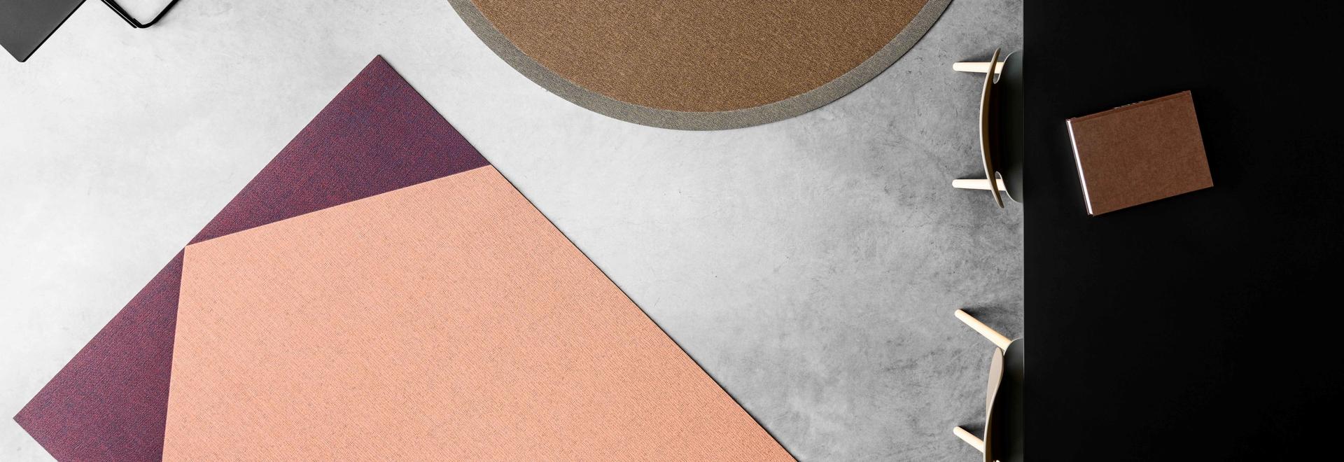 Alfombra de vinilo tejido: una colección moderna y de diseño