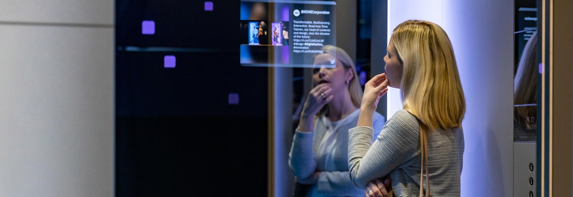 Los ascensores de la clase DX de Kone estarán súper conectados.