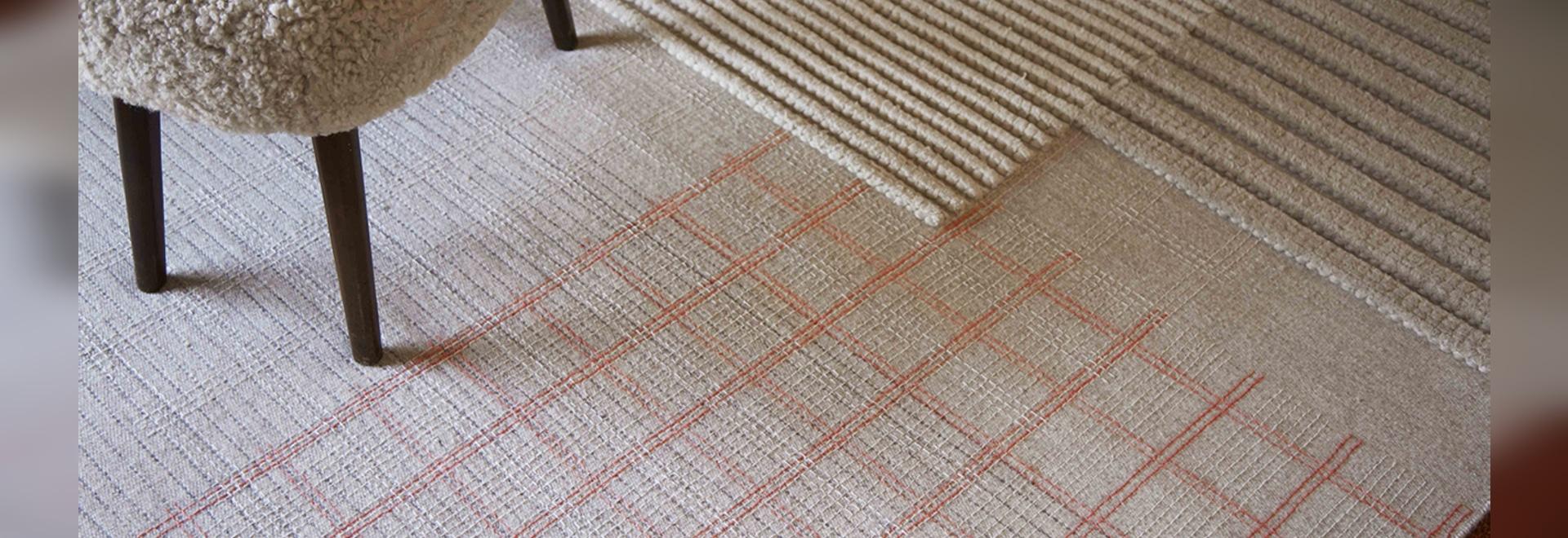 La belleza calmante de las alfombras LAN NATURAL
