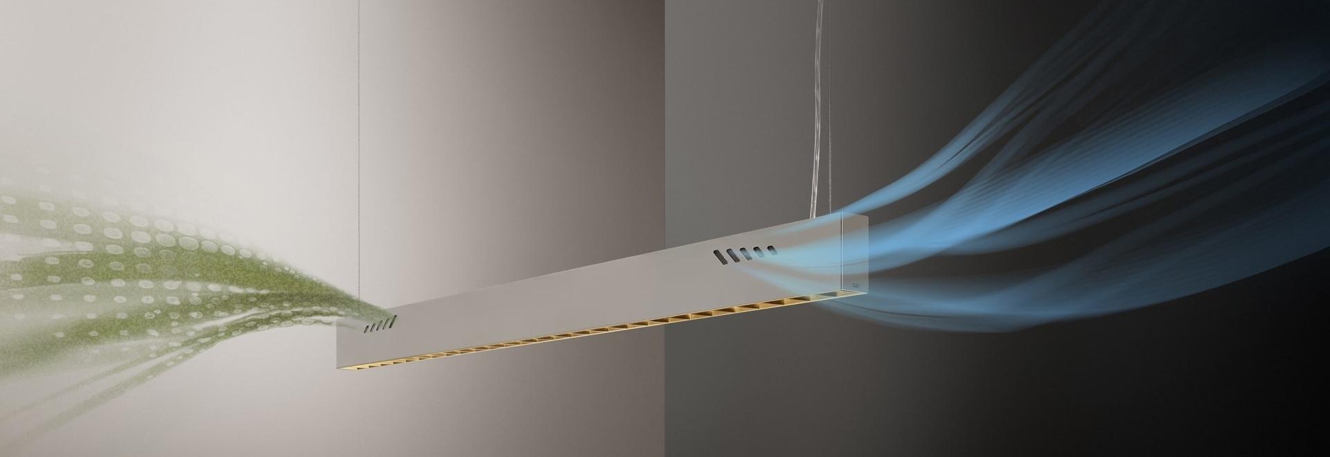 BioAir puro, una lámpara de Olev que higieniza los interiores. Cortesía de Olev