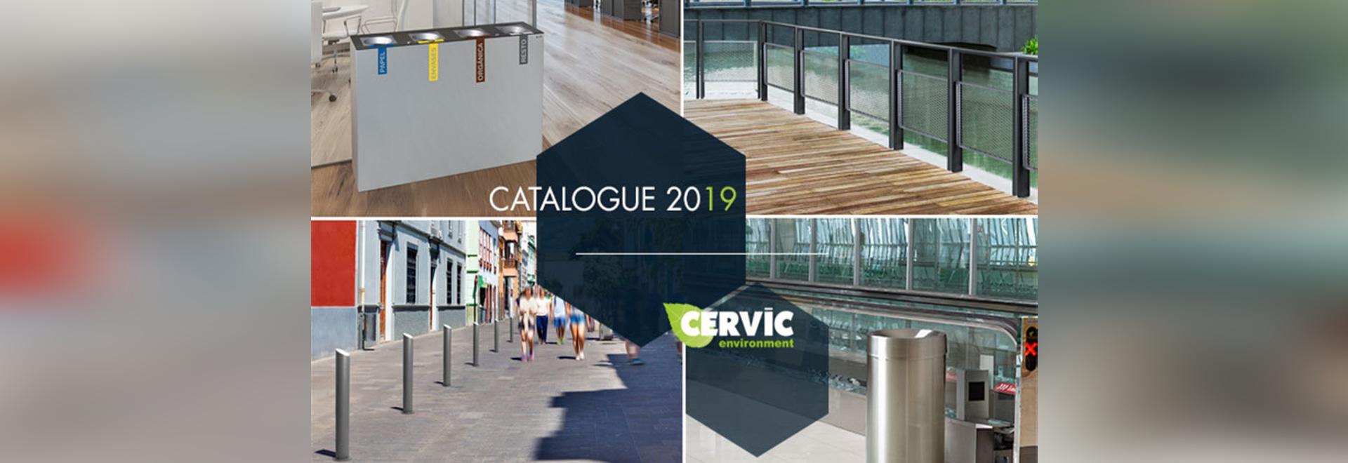 Cervic Environment lanza su Catálogo 2019