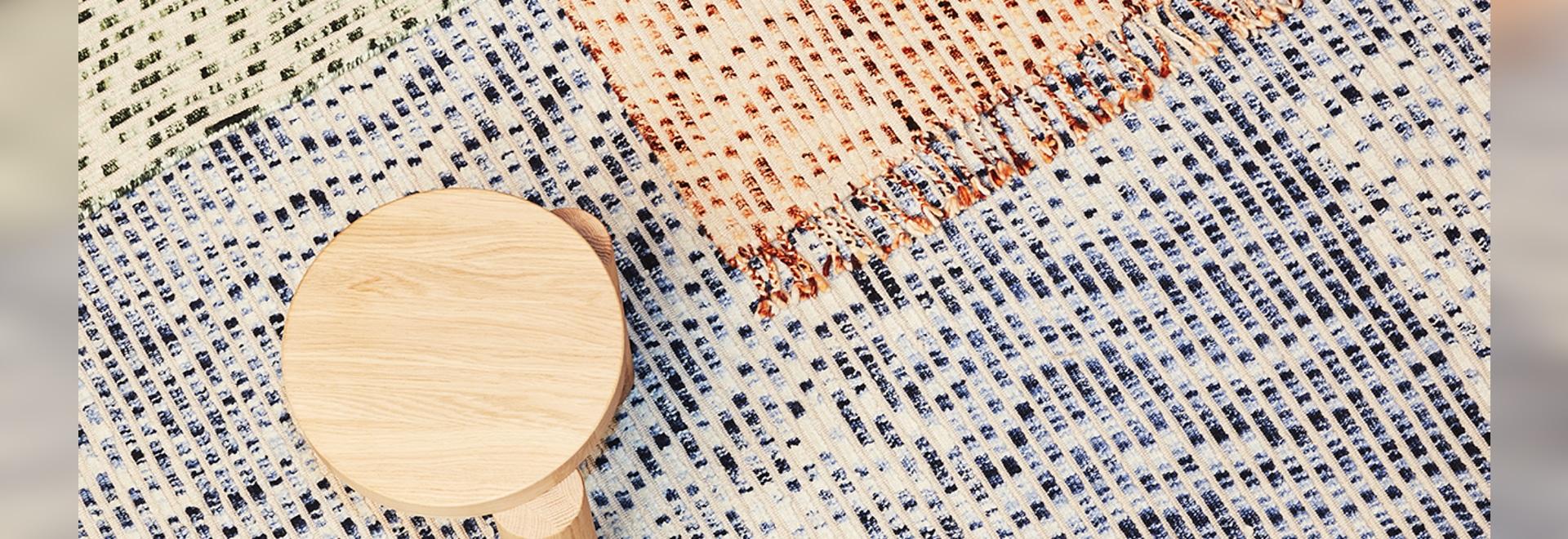 La colección de alfombras Lines es una verdadera obra maestra