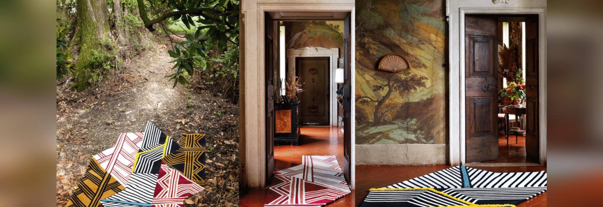 Colección de alfombras Siamo Tutti Uno