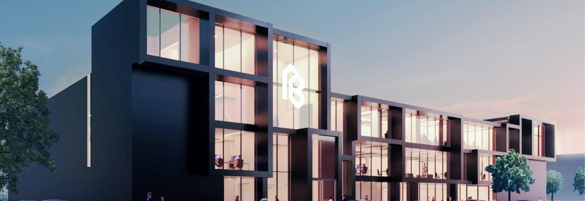 Edificio de oficinas icónico en Maasdijk by MoederscheimMoonen Architects