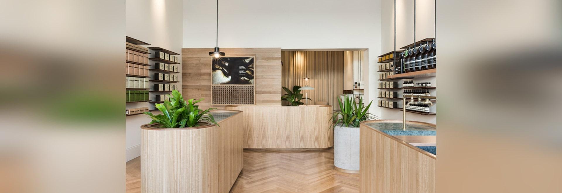 El estudio de Genesin renueva la tienda del Victorian en Adelaide para Esopo