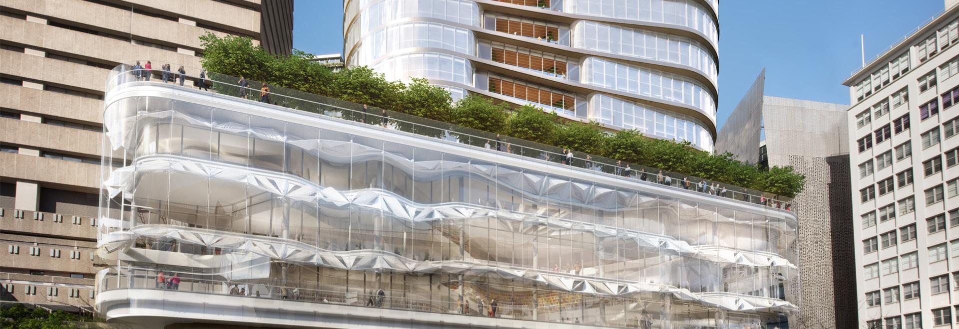 FJMT diseña el nuevo edificio central del UTS en la Universidad Tecnológica en Sydney