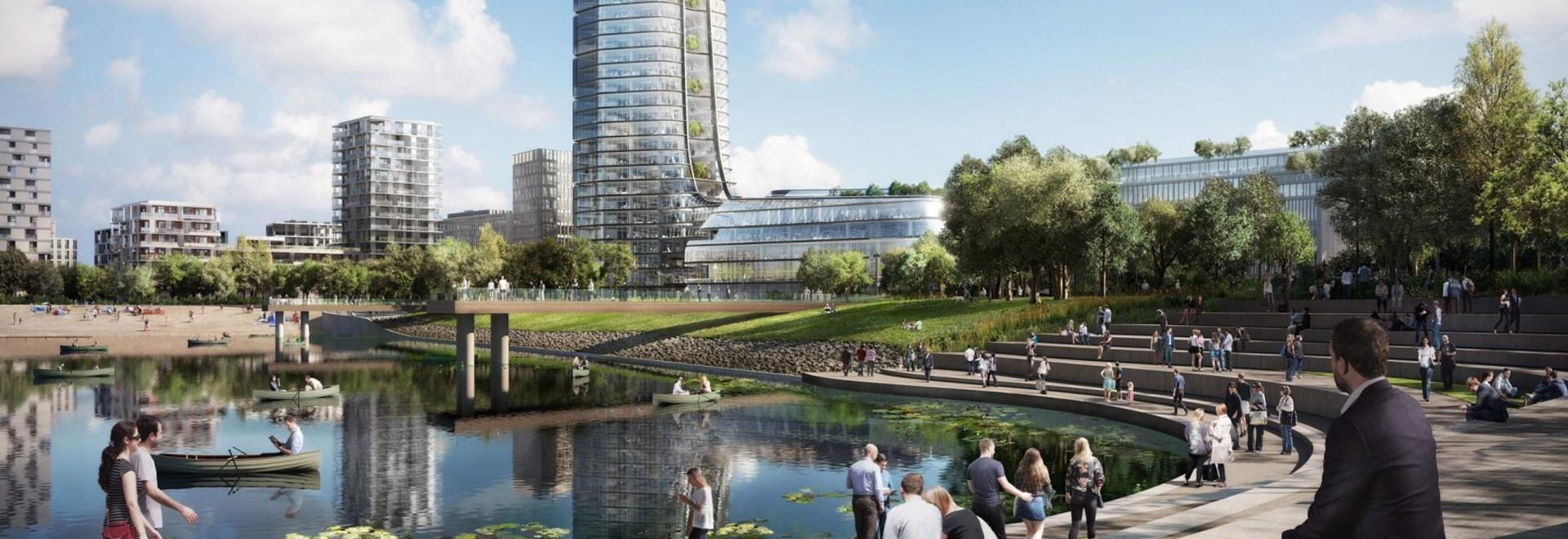 Fomente + la torre de Budapest de los socios será construido a pesar de la nueva prohibición del rascacielos de la ciudad