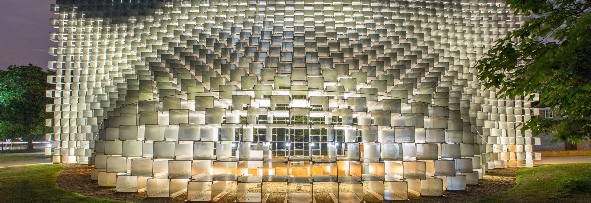 Für Serpentine Pavilion 2016 de Minimalistisches Lichtdesign