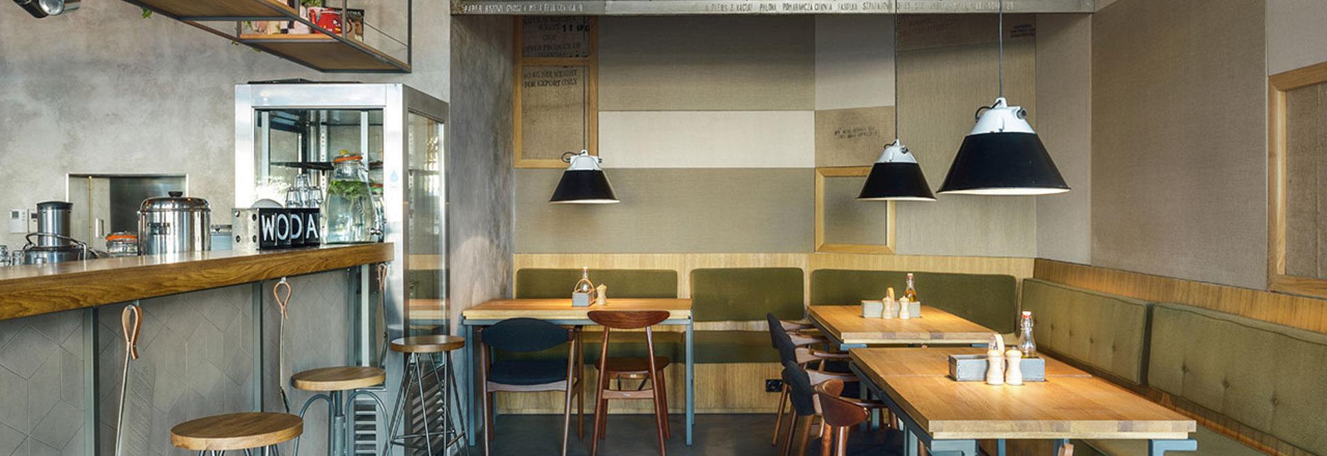¿G? barra y restaurante en Gdyna, Polonia por PB/STUDIO y Felipe Kozarsk de Osobowa del ówna