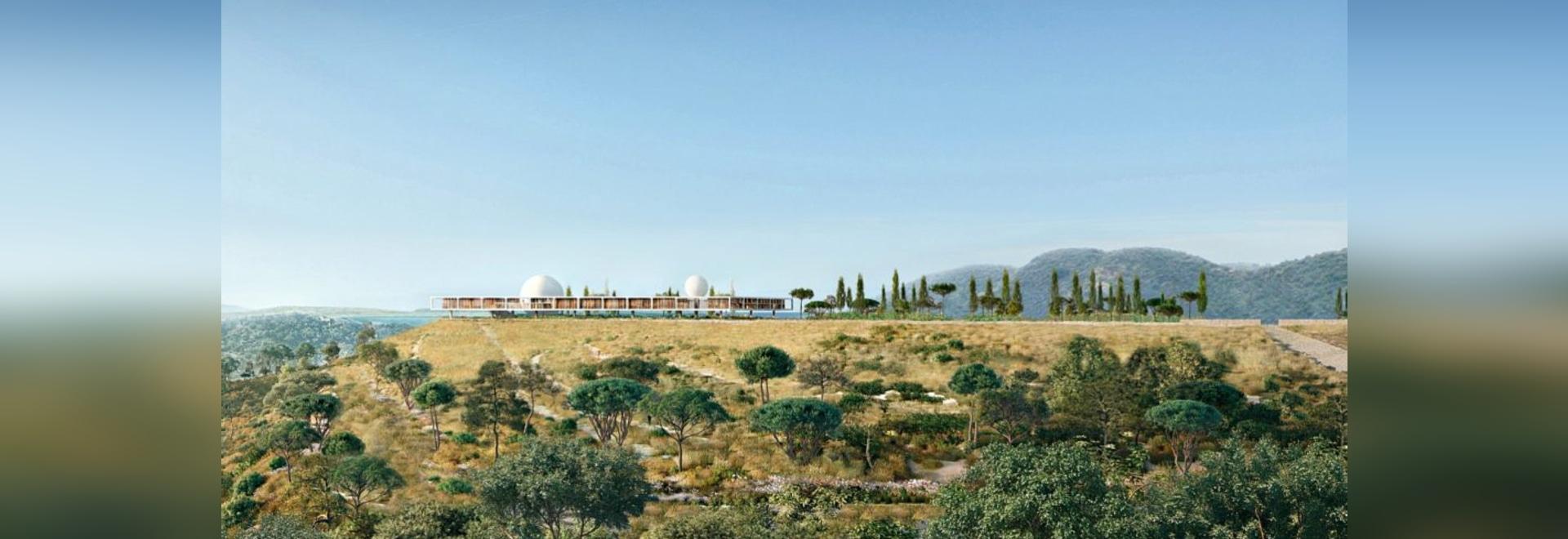 Herzog & de Meuron revela el campus monasterio-inspirado para el nuevo instituto de Berggruen en California