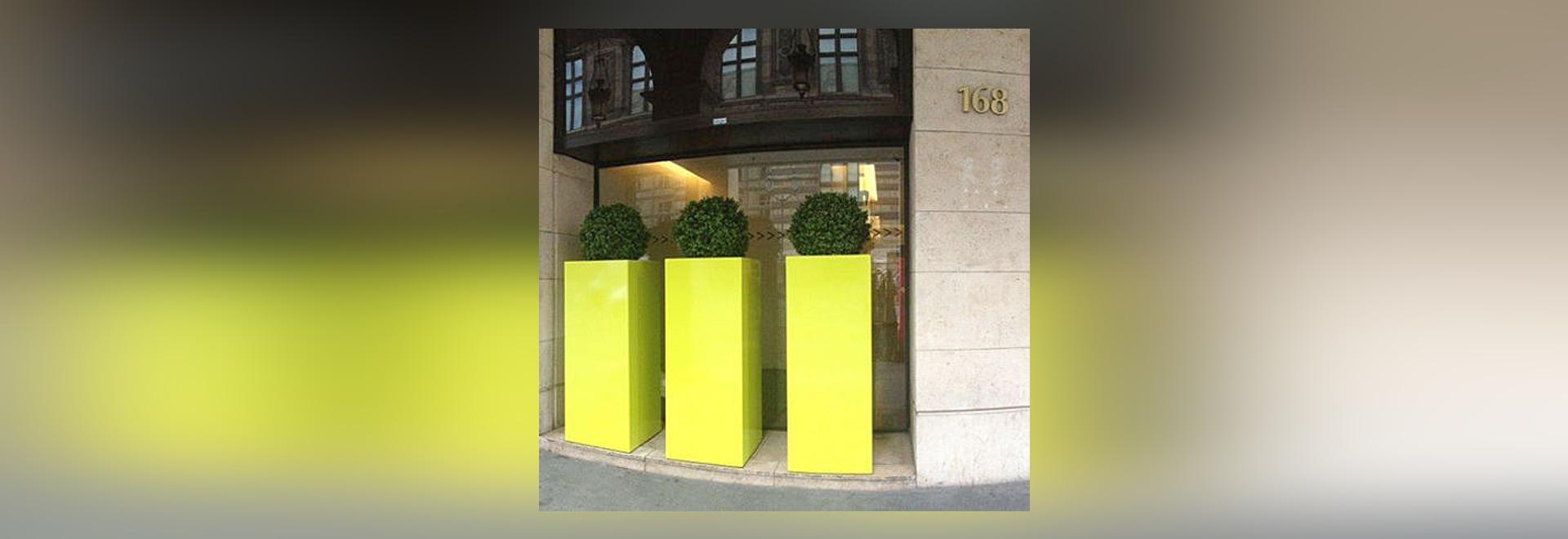IlageIn - altos envases de la planta por encargo en Francia, conveniente a los espacios públicos