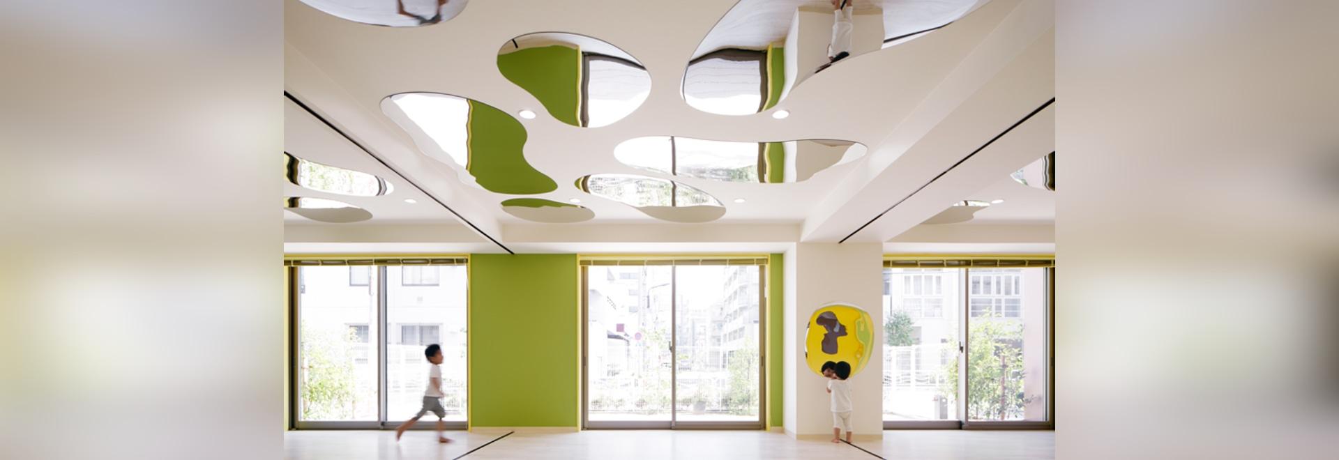 Jardín de la infancia creativo del lhm de los diseños de los arquitectos de Moriyuki Ochiai