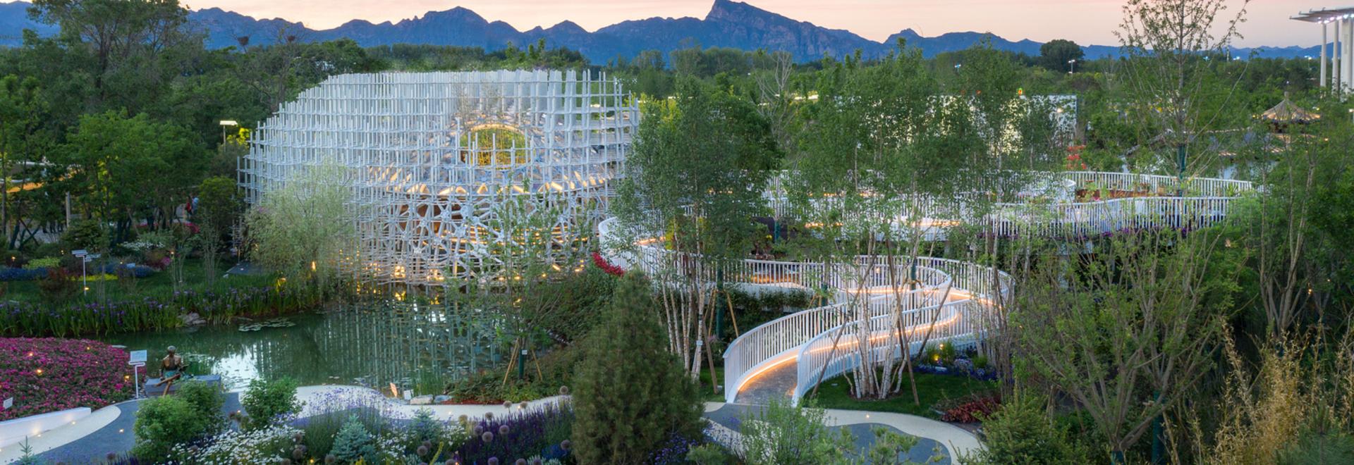 Jardín de Shanghái, Exposición Hortícola de Pekín 2019 / Arcplus Architectural Decoration & Landscape Design Research Institute