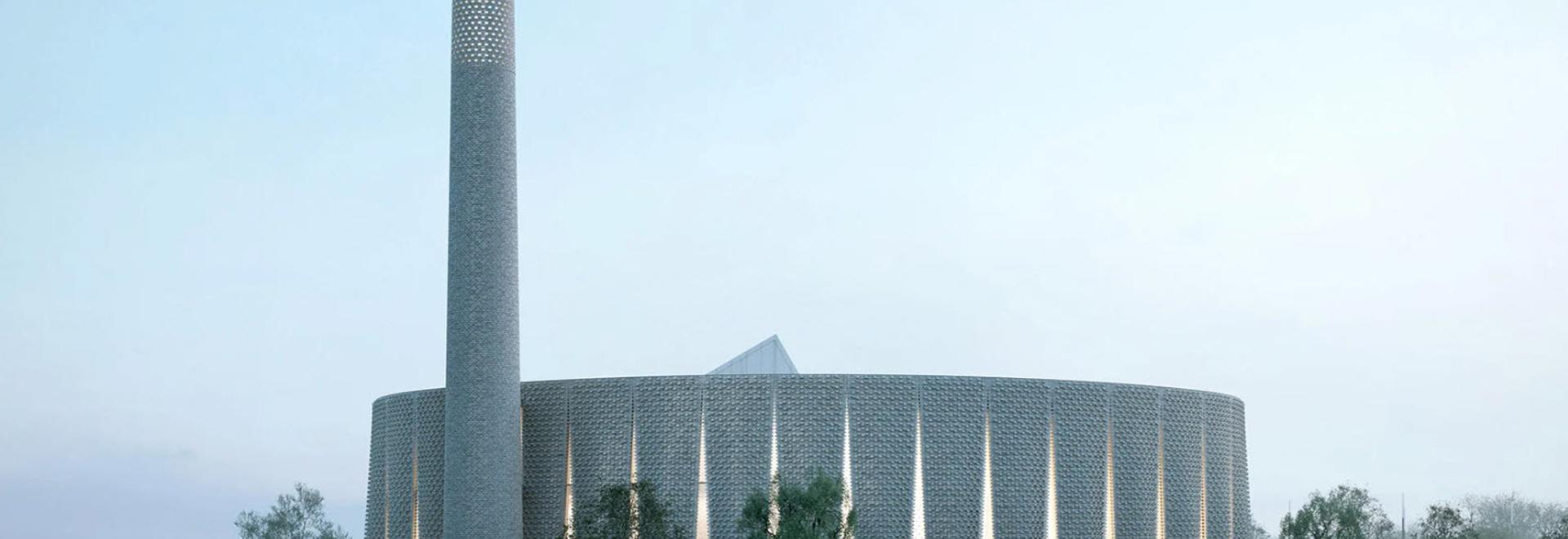 Luca Poian Forms diseña una mezquita de ladrillo decorativa para Preston