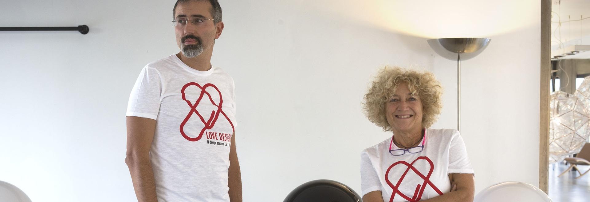 Marco Ghilarducci y Emiliana Martinelli