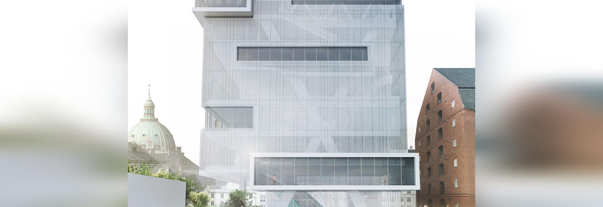 el mayer de Daniel diseña la biblioteca 2.0 en el centro de Copenhague, Dinamarca