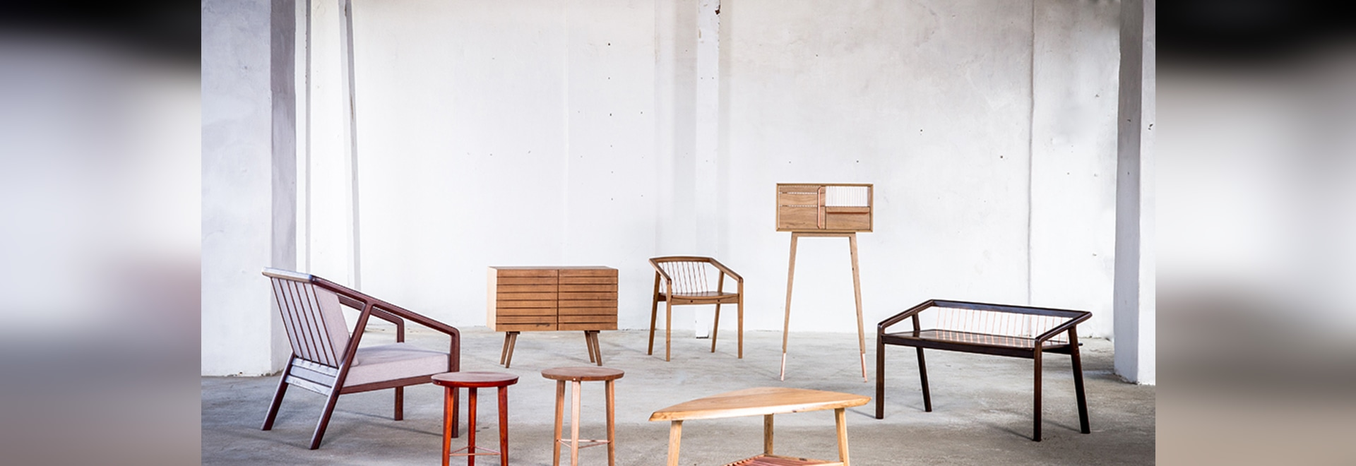 Muebles brasileños contemporáneos de Knót Artesanal