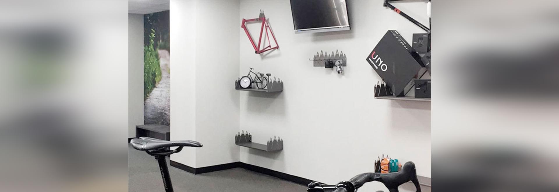 Mobiliario Para Tienda De Bicicletas Barcelona Spain Ado Urban # Muebles Bicicleta