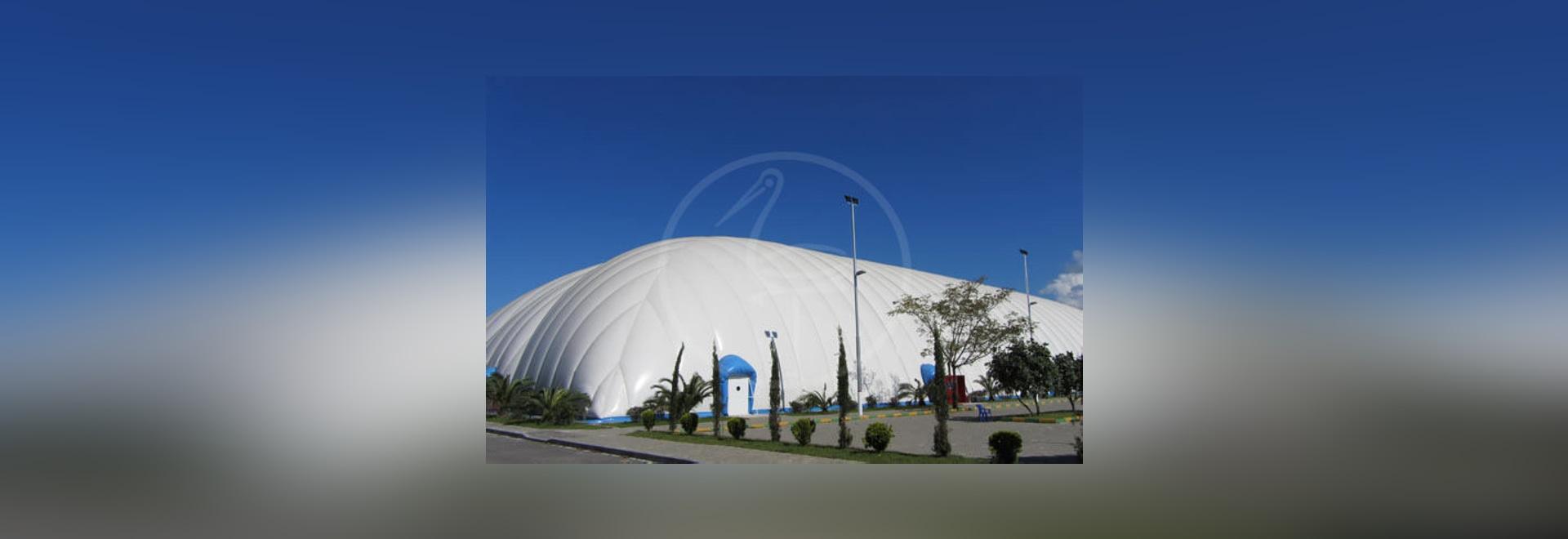 NUEVO: estructura inflable del campo atlético de s.r.l. de la INGENIERÍA del P.M. - PLASTECOMILANO