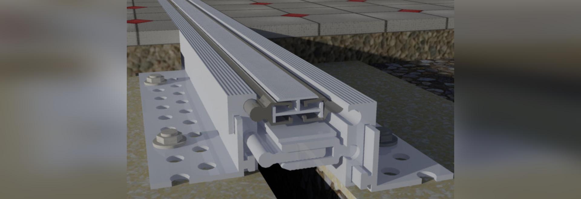 NUEVO: junta de dilatación de aluminio de Deflex