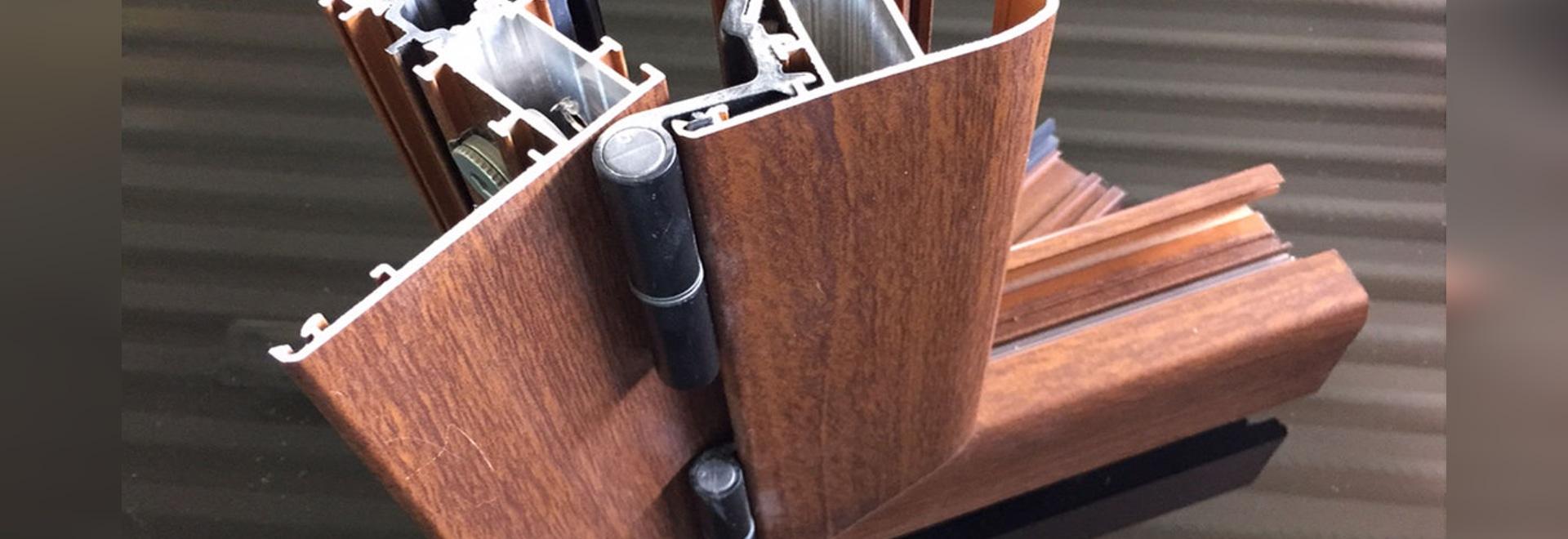 NUEVO: perfil de la ventana de aluminio por el GRUPO S.R.L. de MAPIER.