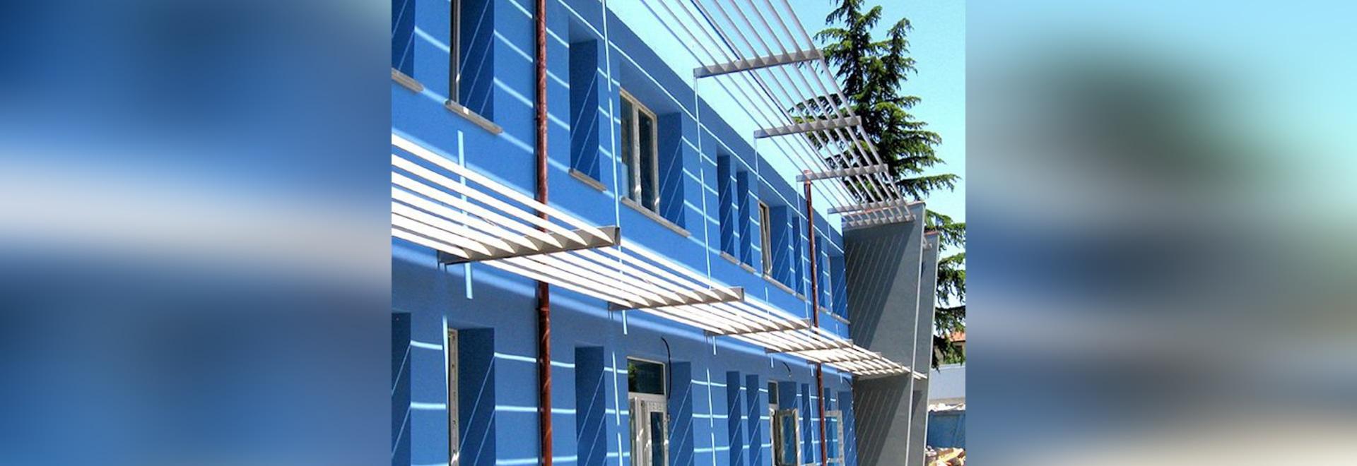 NUEVO: shading solar de aluminio por el GRUPO S.R.L. de MAPIER.