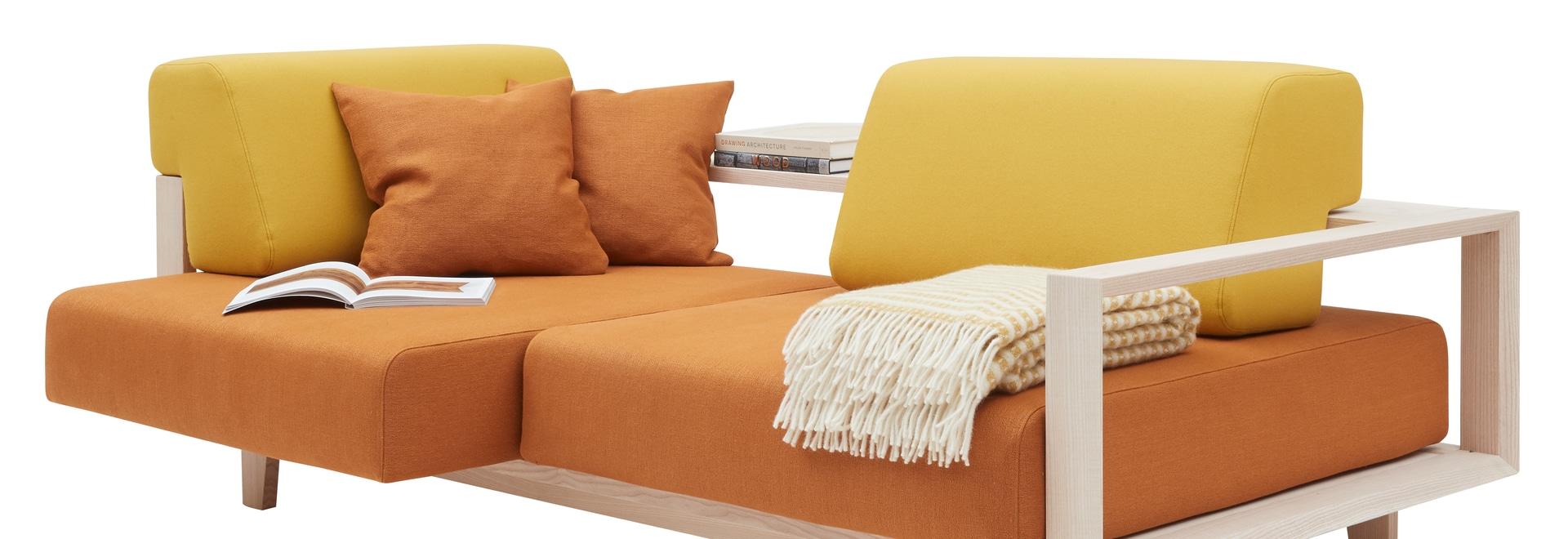 El nuevo sofá creativo WOOD