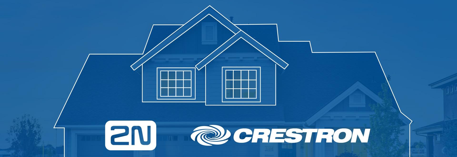 Ofrezca una vivienda inteligente. Ofrezca 2N y Crestron juntos