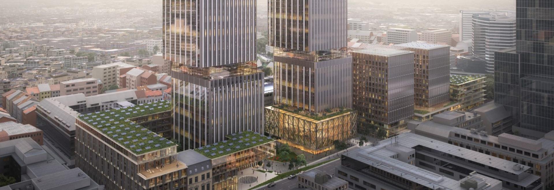 """Perkins y Will diseñan oficinas de la Comisión Europea """"preparadas para el futuro"""