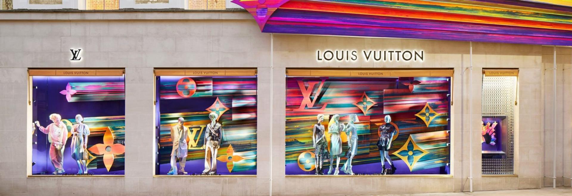 Peter Marino canaliza la felicidad para la renovación de la tienda Louis Vuitton en el oeste de Londres