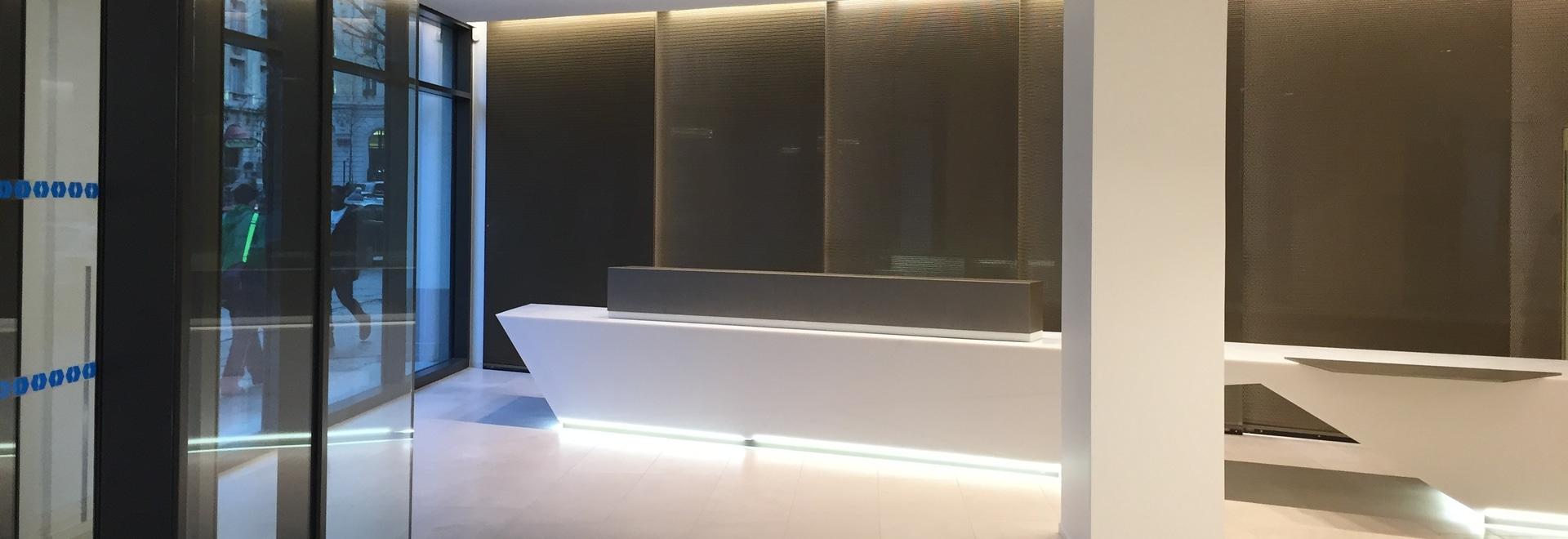 Proyecto de Codina Architectural en unas oficinas de la rue Kleber, Paris (Francia)
