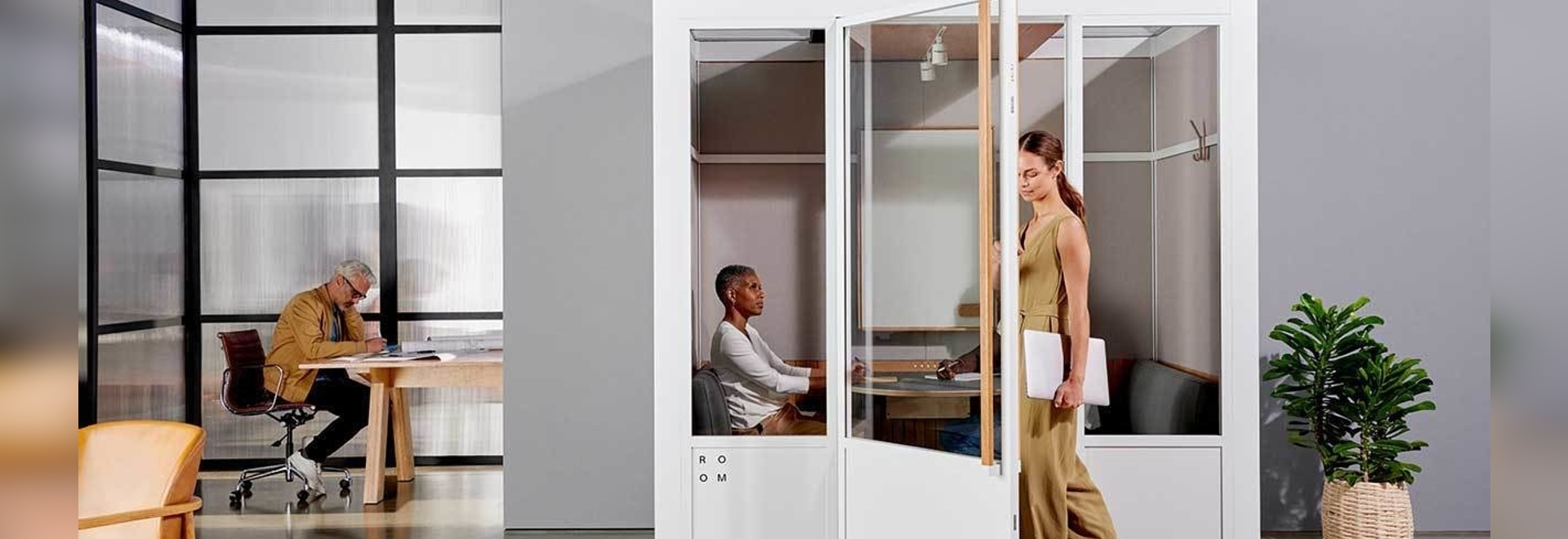 ROOM lanza nuevas salas de reuniones modulares para el espacio de trabajo moderno