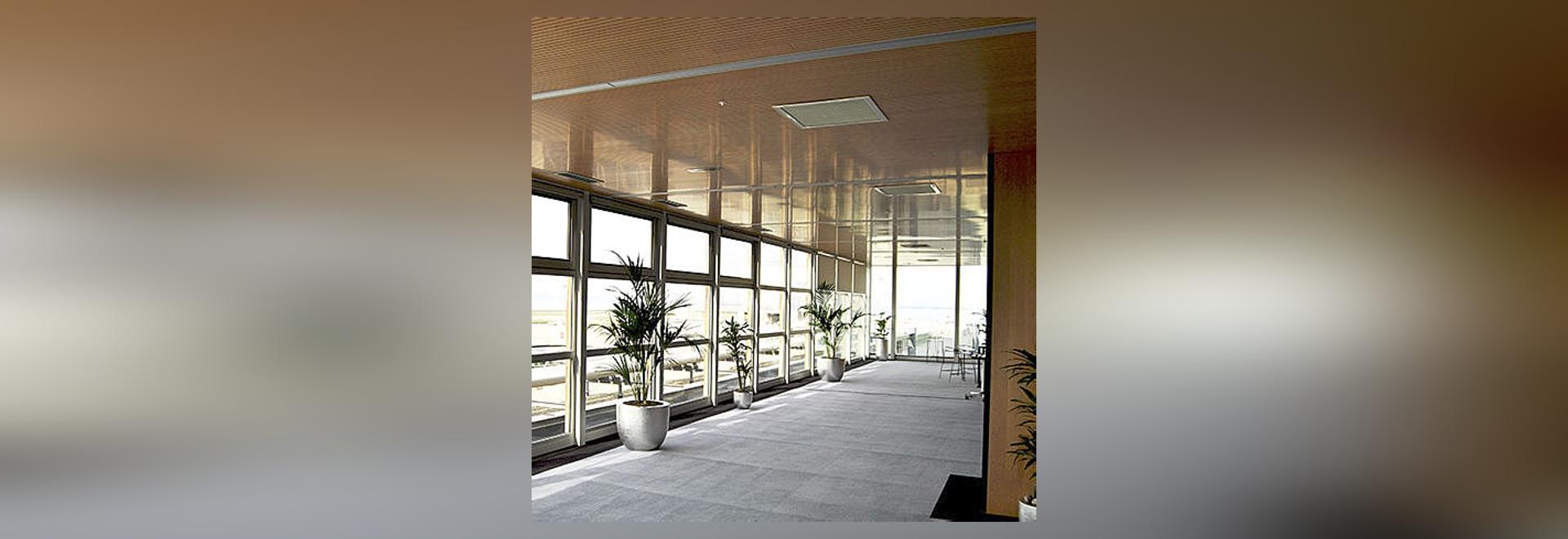 Sala conferencias aeropuerto de Marsella, Francia