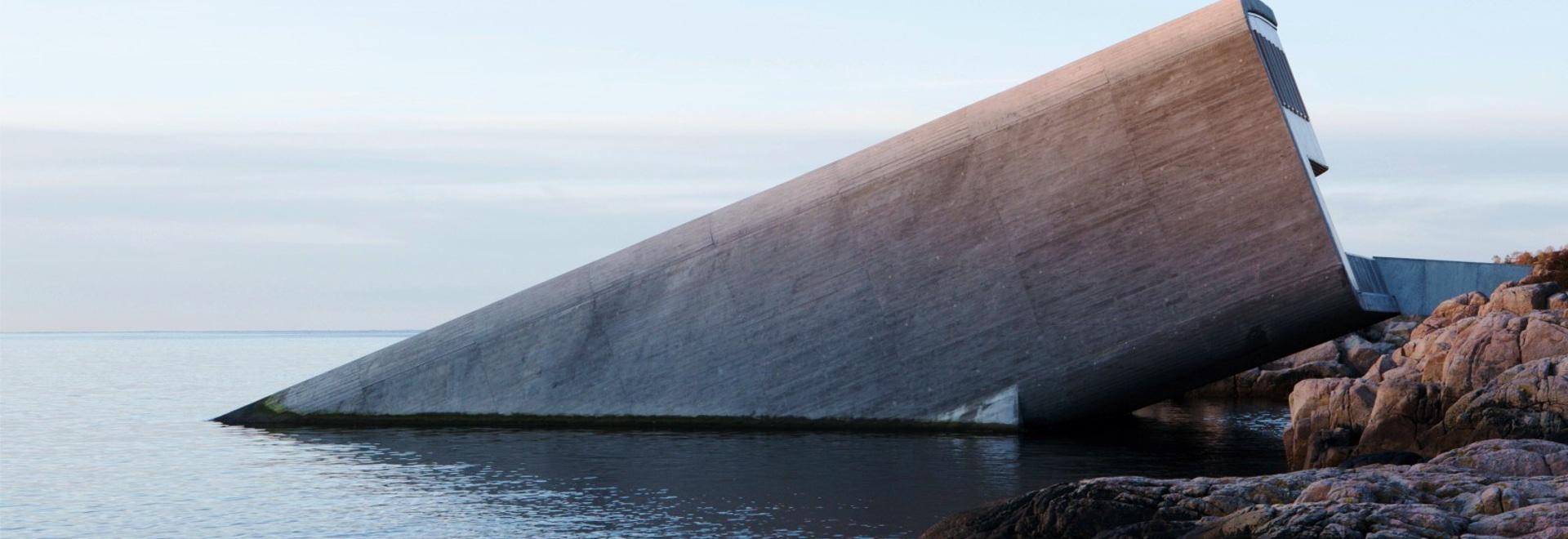 "Snøhetta completa ""Under"", el primer restaurante submarino de Europa"