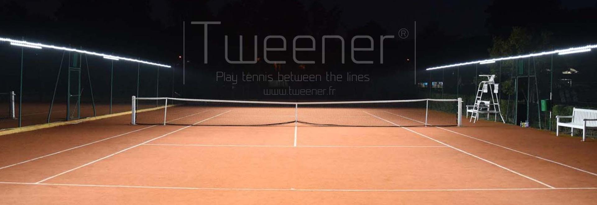 TWEENER – La nueva iluminación al aire libre del tenis