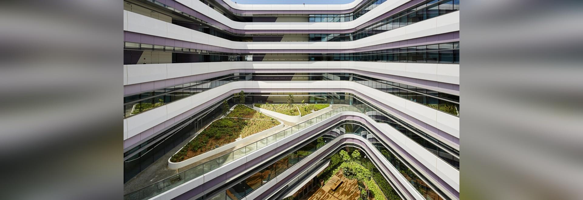 UNStudio termina la primera fase de plan director extenso de la universidad en Singapur