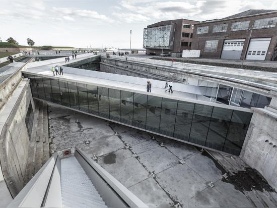Museo marítimo nacional danés de los arquitectos GRANDES (Helsingør, Dinamarca, 2013)