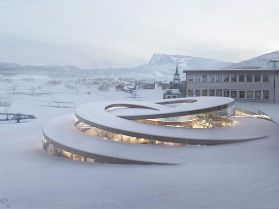 DES Fondateurs de Maison del La de los arquitectos GRANDES (La Brassus, Suiza, en curso)