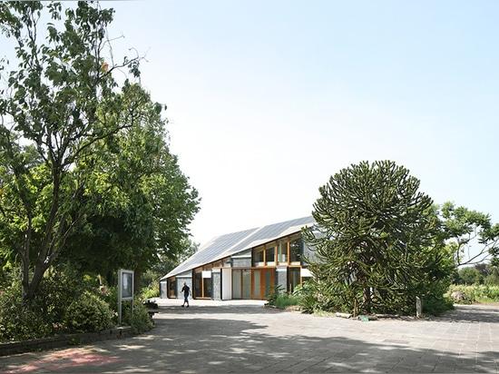 ¿en fecha este año, el noord de Amsterdam se convierte en anfitrión a? ¿centro de aprendizaje de la naturaleza y del ambiente?